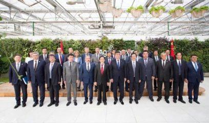 吉尔吉斯斯坦总统热恩别科夫访问中国农业科学院
