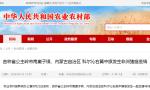 吉林省公主岭市南崴子镇、内蒙古自治区 科尔沁右翼中旗发生非洲猪瘟疫情