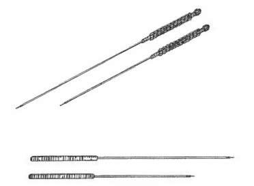 诊疗技术:中兽医针灸治疗的特征及常用于针灸治疗的针的种类
