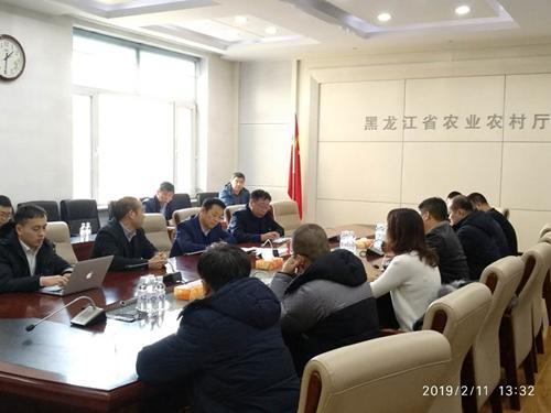 黑龙江省农业农村厅召开座谈会推进生猪产业健康发展
